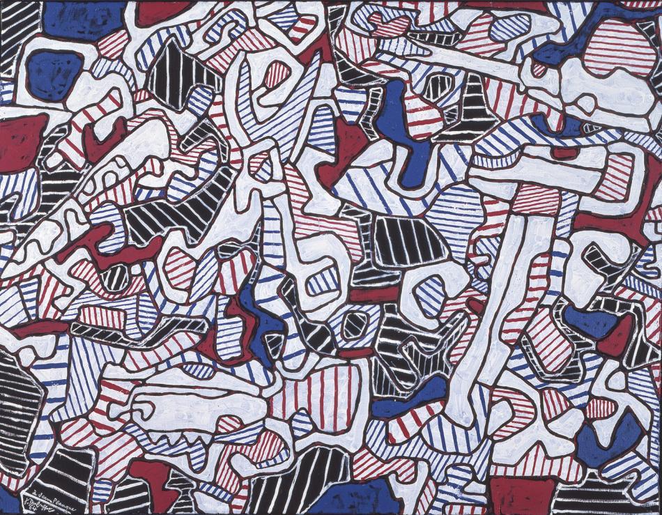 Resultado de imagen de jean dubuffet obras