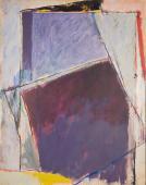 "Alberto Solsona, ""Plano oscuro"", 1979 óleo sobre tela 146 x 114 cm."