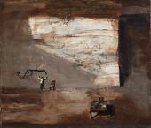 "Ignacio Iturria, ""Siempre los elefantes"", 2008 oli sobre tela 60 x 70 cm."