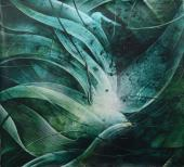 "Vicenç Viaplana, ""Sota el Sui 13"", 2020 acrílic sobre tela 195 x 209 cm"