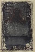 """Manuel Ángeles Ortiz, """"Misteriosa Alhambra""""tinta sobre papel 15,5 x 10,7 cm"""