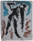 "Luis Claramunt, ""Untitled"", c.1985 oil on canvas 21 x 17,2 cm"
