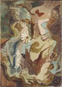 """André Masson, """"La Reine-Marguerite"""", 1926 oil on canvas 46,2 x 33 cm"""