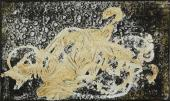 Antoni Tàpies, 'Pintura grisa-verda', 1955 tècnica mixta sobre tela 39 x 61 cm