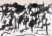 Esteban Vicente, 'Untitled' 1967 ink on paper 48,5 x 70 cm
