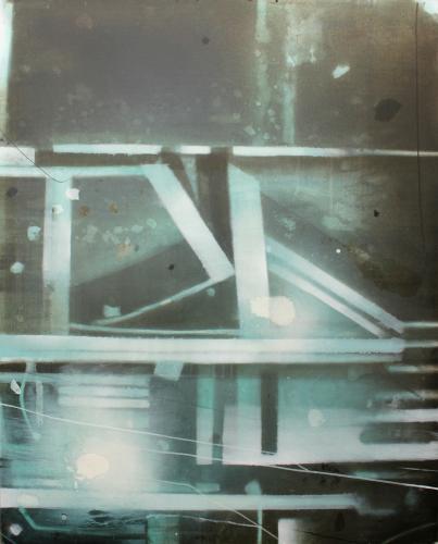 "Vicenç Viaplana, ""Confusió"", 2005 acrylic on canvas 162 x 130 cm"
