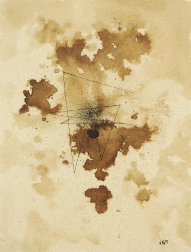 "Léon Tutundjian, ""Sans titre"", 1926 ink on paper 20,5 x 15 cm"