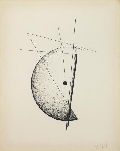 "Léon Tutundjian, ""Sans titre"", 1926 ink on paper 21,5 x 17 cm"