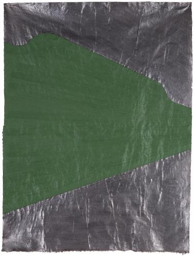 "LLuís LLeó, ""Helena"", 2015, oil and graphite on Nepal J.M.3 paper 103 x 78 cm"