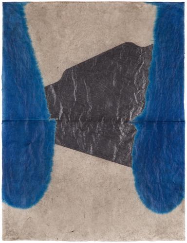 """Lluís LLeó, """"Menelaus"""", 2016, graphite and ink on Bhutan Denar JDK paper 103 x 77,8 cm"""