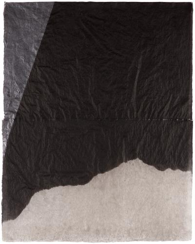"LLuís LLeó, ""Nestira"", 2016, graphite and ink on Nepal J.M.3 paper 101,3 x 80 cm"