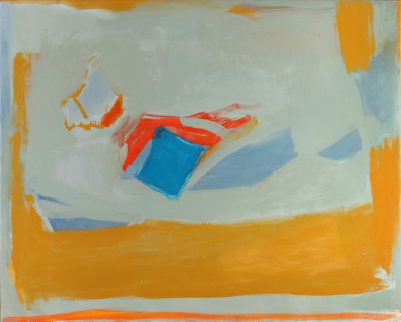 Esteban Vicente, 'Yonder', 1993 óleo sobre tela 101,6 x 127 cm