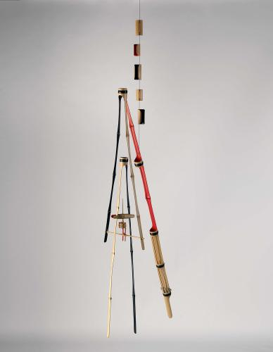 Moisès Villèlia, 'Untitled', 1987 bamboo 230 x 73 x 73 cm