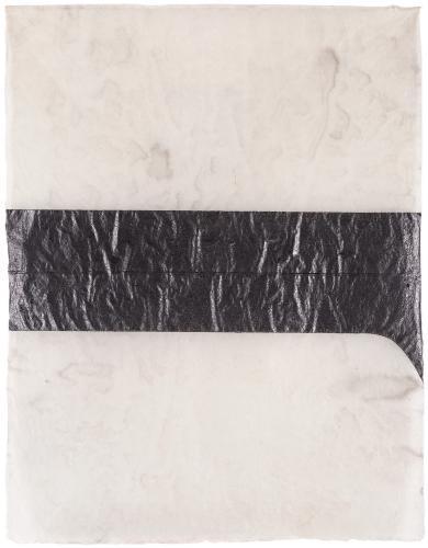 """LLuís Lleó, """"Peleides"""", 2016, graphite and ink on Bhutan Denar JDK paper 106 x 83 cm"""