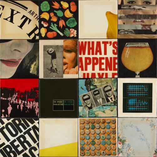 "Joan Rabascall, ""Untitled"", 1968 collages  98 x 98 cm"